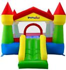 Bounceland Classic Turret 12ft Bouncy Castle with Airflow Fan Blower 2 Colours