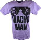 Macho Man Randy Savage Old School Purple T-shirt