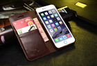 Leather Flip Wallet Case Stand Cover Skin For Samsung Galaxy /Iphone 5/5s/se/6s