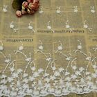 New Lace Trims White Embroidered Dandelion Tulle Trimmings DIY Sewing Accessory