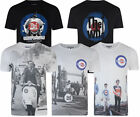 Mens Lambretta The Who Target/Scooter/Tower MOD SKA Casual Tee T Shirt M to 2XL