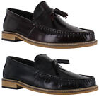 Mens Lambretta Formal Leather Tassle Loafers MOD SKA Shoes Sizes 7 to 12