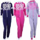 Girls Onezee Zip Up Athletic 89 Hooded nesies All In One Onesie In 3 Colours