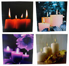 LED Canvas Hanging Wall Art Candles Water Fountain Streets of New York Designs