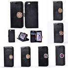 For Samsung Luxury Leather Coin Moneda Wallet Card Slots+Photo Frame Case Cover