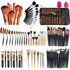 Makeup Brush Set Professional Soft Cosmetic Eyebrow Shadow B