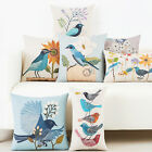 1Pc Cartoon Fresh Country Linen Pillow Case Cushion Cover Square Sofa Home Decor