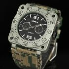INFANTRY MILITARY Mens Analog Wrist Watch Aviator Luxury Waterproof Police Style
