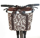 Aluminum mountain bike basket bicycle pet carrier bag bicycle basket 100% NEW