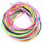 Wholesales Adjustable Handmade Cord Silk Lobster Clasp Chain Necklace Rope