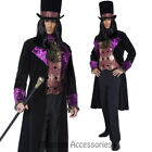 CL908 Gothic Manor Vamp Vampire Count Gothic Halloween Fancy Dress Up Costume
