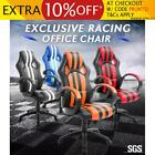 Adjustable Exclusive Racing Computer Office Chair w/ Lumbar Support Gaming Seat