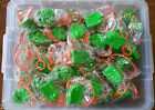 LOT OF 138 BeyBlade Launcher and 40 Rip Cords - 3 COLORS - NEW