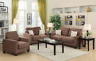 Poundex Bobkona Madison 3 Piece Sofa and Loveseat with Chair Set