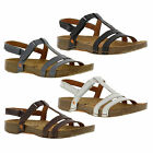 Art 0946 I Breathe Womens Slingback Open Toe Leather Strappy Sandals Size UK 4-7