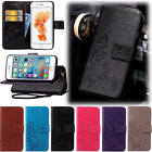 For iPhone 6 Plus/6S Plus 5.5 With Starp Case Leather Embossed+Soft Inside Cover