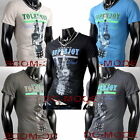 T-Shirt Body Bodybuilding TOP Shirt Tattoo Print Tank /ts02