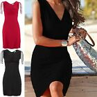 CHIC Womens Sleeveless Party Evening Cocktail Summer Beach Short Mini Dress