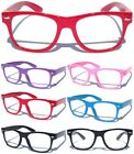 Внешний вид - SMALL KID CHILD SIZE CLEAR LENS GLASSES Nerd Hipster Boys Girls Nerd Color Frame