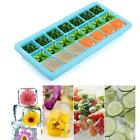 21Cube Silicone Ice Cube Tray Mold With Lid Square Mold Ice Maker Jelly Pud - CB