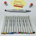 Industry Design Markers Set Sketch Double Ended Marker Pens 160 Colors Choice