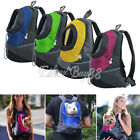 Pet Front Carrier Dog Cat Puppy Travel Bag Mesh Backpack Head out Carrier Bags