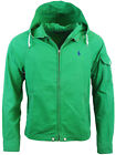 Polo Ralph Lauren Mens RL Pony Logo Hooded Waimea Windbreaker Jacket Coat New
