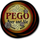 Beer Coasters 4pc Choose Name- Dori Erbs Fose Lalk Noak Pego Thys Umeh Vish Vitz