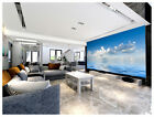 3D Blue Sky Ocean White Clouds 159Wall Paper Wall Print Decal Wall AJ Wall Paper