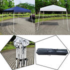10'X10' EZ POP UP Wedding Party Tent Folding Gazebo Beach Canopy W/Carry Bag