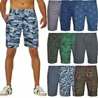 New Mens Zara Chino Shorts Printed Bermuda Floral Hawaiian Cargo Combat Pants