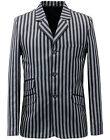 NEW RETRO INDIE MOD SIXTIES STRIPE Striped BOATING BLAZER JACKET MC281 S15B/C