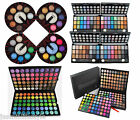Glitzy Eye Shadow Blusher Palette Shimmer Matte Colors Set Make Up 8 24 120 180