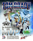 Tom Brady New England Patriots Super Bowl XLIX MVP Photo RS007 (Select Size) $8.49 USD