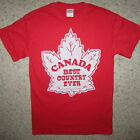 canada best country ever funny canadian mapleleaf vintage hockey graphic t shirt