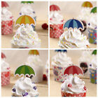 50PCS Umbrella Birthday Cake Bunting Banner Topper Flags Party Baby ShowerLAU