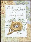 God Watches Over Every Nest Birds Cross Stitch Kit - Dimensions