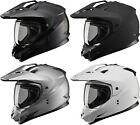 Gmax GM11D Solid Dual Sport Helmet Adult All Sizes All Colors
