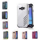 For Samsung Galaxy J1 Ace SM-J110 Hard Case Bicolour Tough Armor Rubber PC Cover