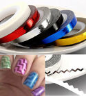 1Pcs Colorful Rolls Striping Tape Line DIY Nail Art Tips Decoration Sticker