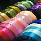 "3/8"" 7/8"" Multi MIX colorful Satin Ribbon Wedding Party Craft Gift wholesale Lot"