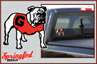 Georgia Bulldogs MASCOT #3 Vinyl Decal UGA Car Truck Window Sticker PICK A SIZE!