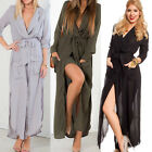 NEW SEXY WOMEN SUMMER BOHO LONG MAXI HOLIDAY PARTY EVENING BEACH CAUSAL DRESS