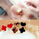 1PC Heart Clover Alloy Korean Style Adjustable Rings Jewellery 1.5*1.5cm
