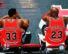 Chicago Bulls Jordan & Pippen NBA Licensed Fine Art Prints (Select Photo & Size)