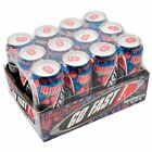 Go Fast  Energy Drink Can Case Pack