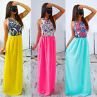 Sexy Womens Summer Boho Long Maxi Evening Party Cocktail Dress Beach Dresses