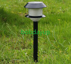 4PC Outdoor Solar LED light Color Change Lamp Garden Furniture Garden Lawn B
