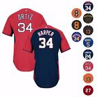 MLB Authentic On-field Cool Base Batting Practice Jersey Collection by Majestic on Ebay