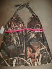 CAMO Bathing Suit top Realtree Juniors Max 4 Halterkini *M L* Halter Tankini